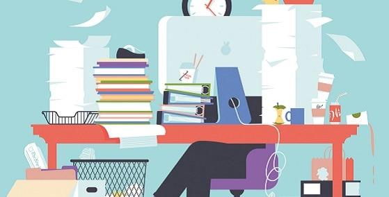 workplace productivity tidy desk tidy mind